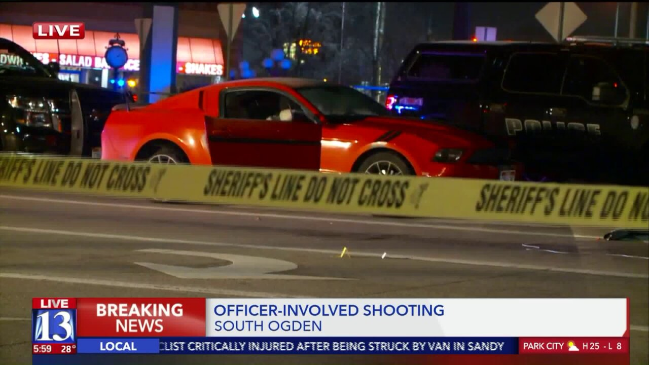 Man dies after officer-involved shooting in SouthOgden