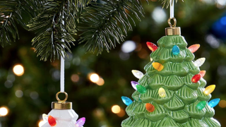 You can get these cute vintage Christmas tree ornaments for up to 60% off