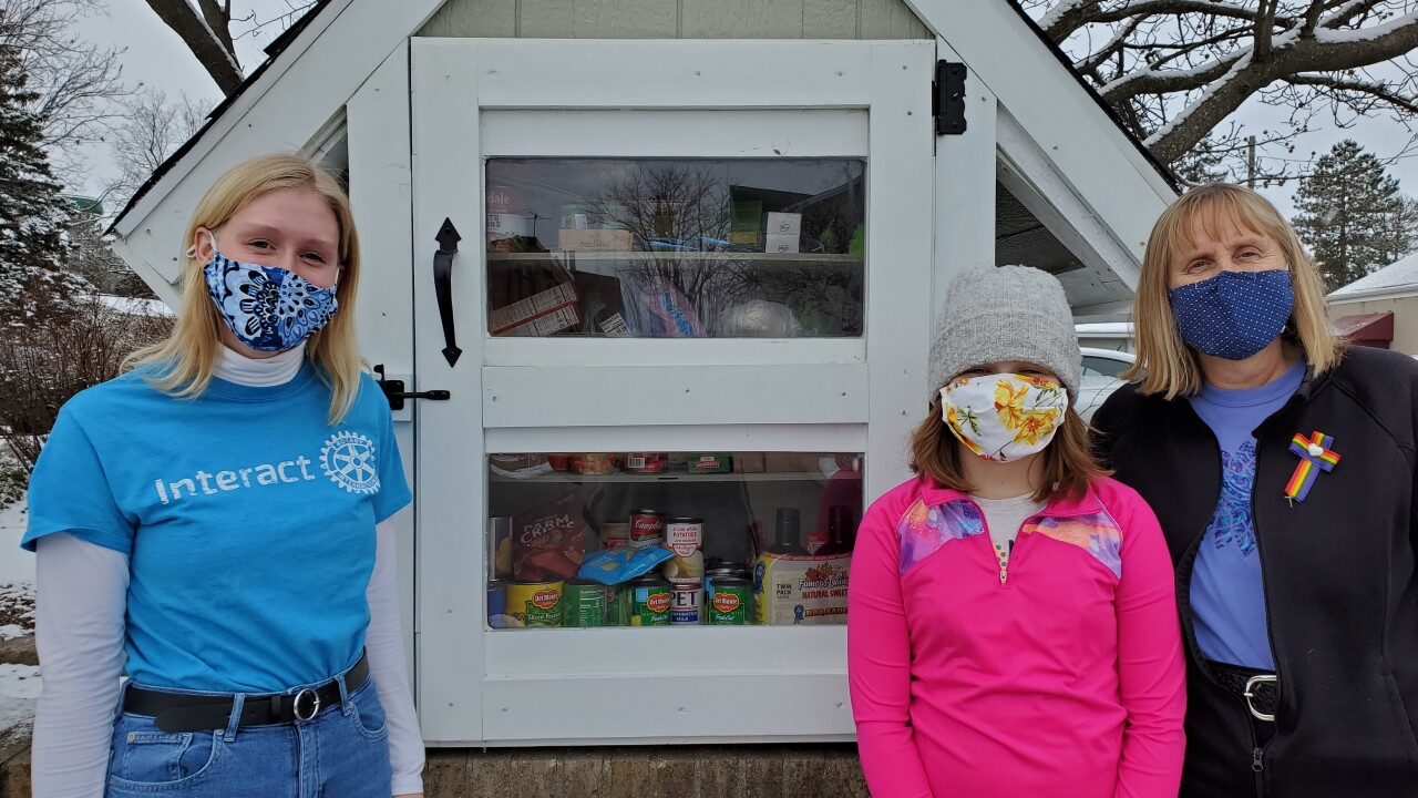 Williamston Interact Club Blessing Box