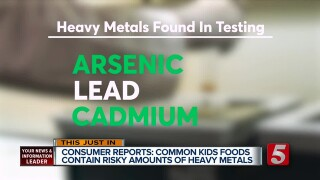 Consumer Reports: Baby-Food Warning