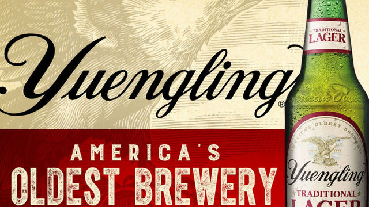 Yuengling, beer from America's oldest brewery, now on sale in Indiana