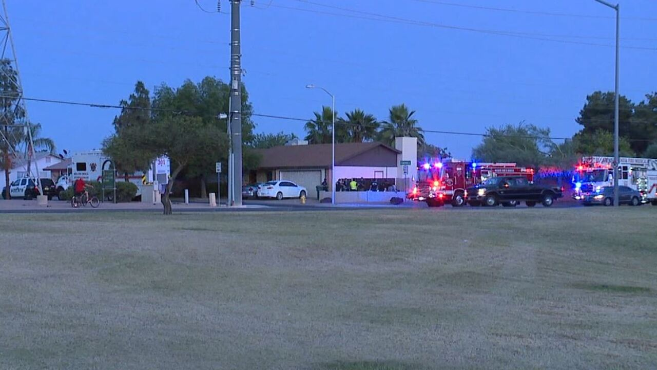 Mesa family hospitalized after CO poisoning