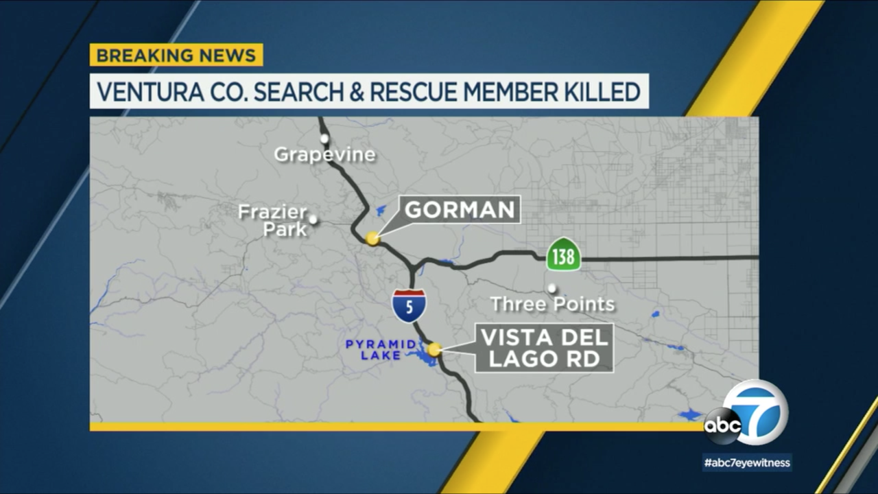 Ventura County search-and-rescue team member killed in 5 Fwy crash