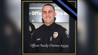 Hollywood Police Officer Yandy Chirino, killed in shooting on Oct. 17, 2021