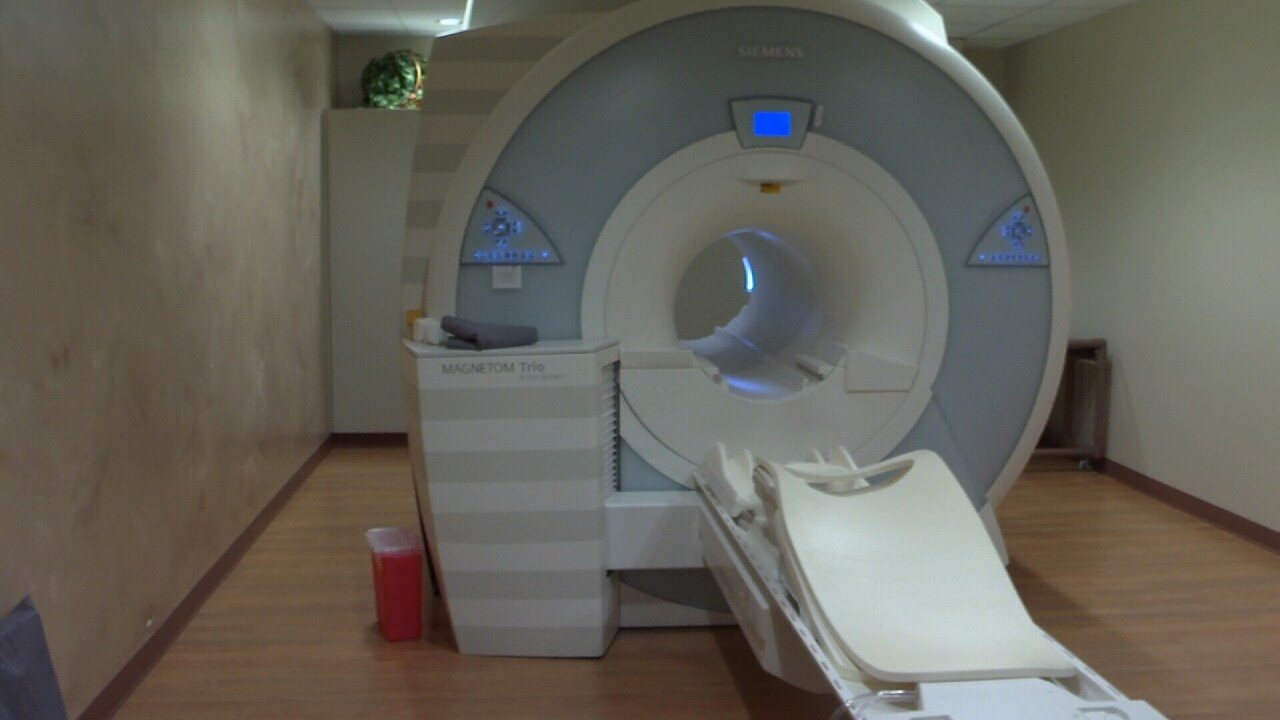 Big Sky Diagnostic Imaging's MRI machine