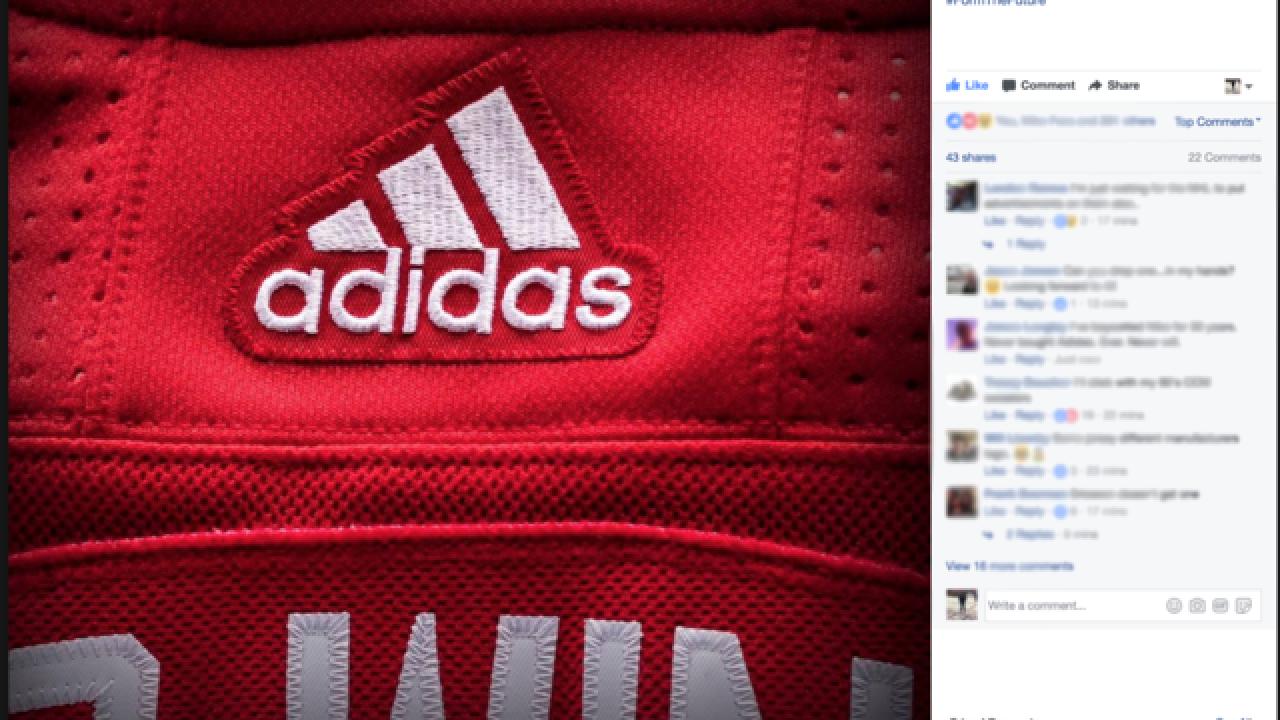 4f2c2ac6135 Detroit Red Wings tease new Adidas hockey jerseys