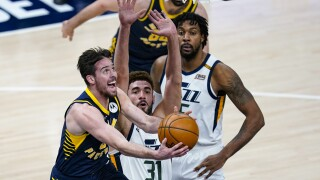Jazz Pacers Basketball