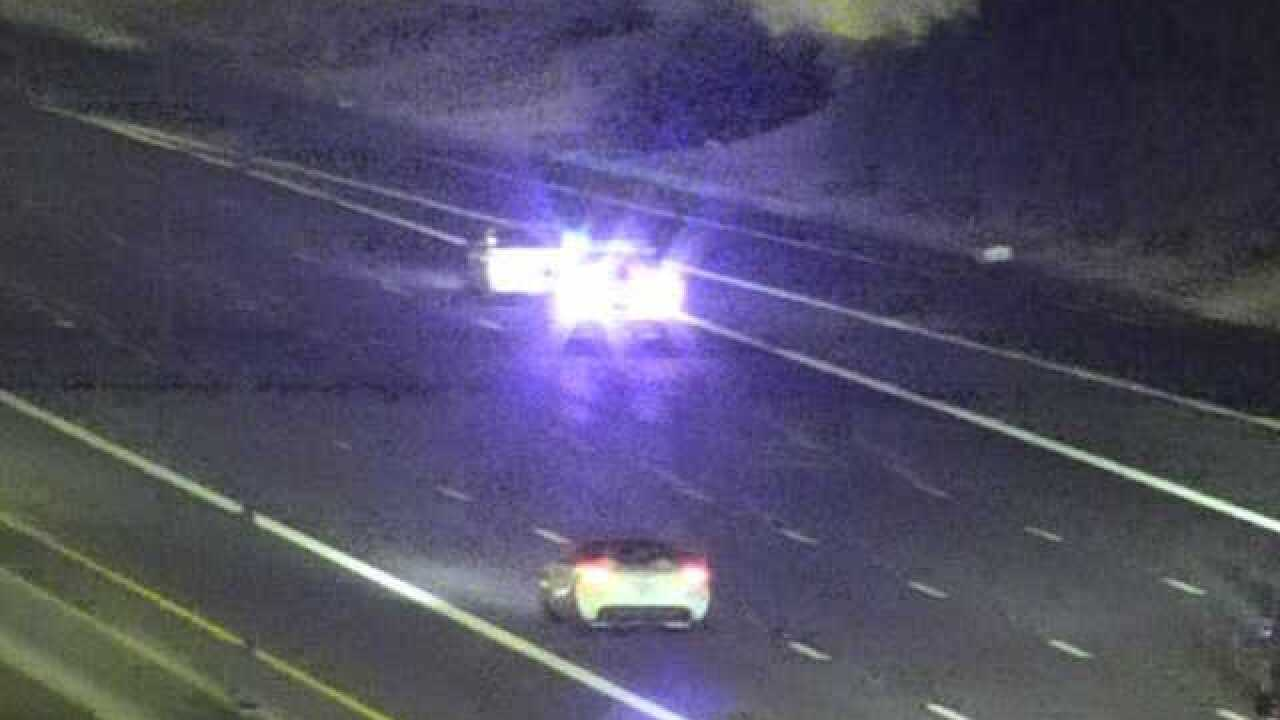 Wrong-way driver spotted on Loop 101 in custody