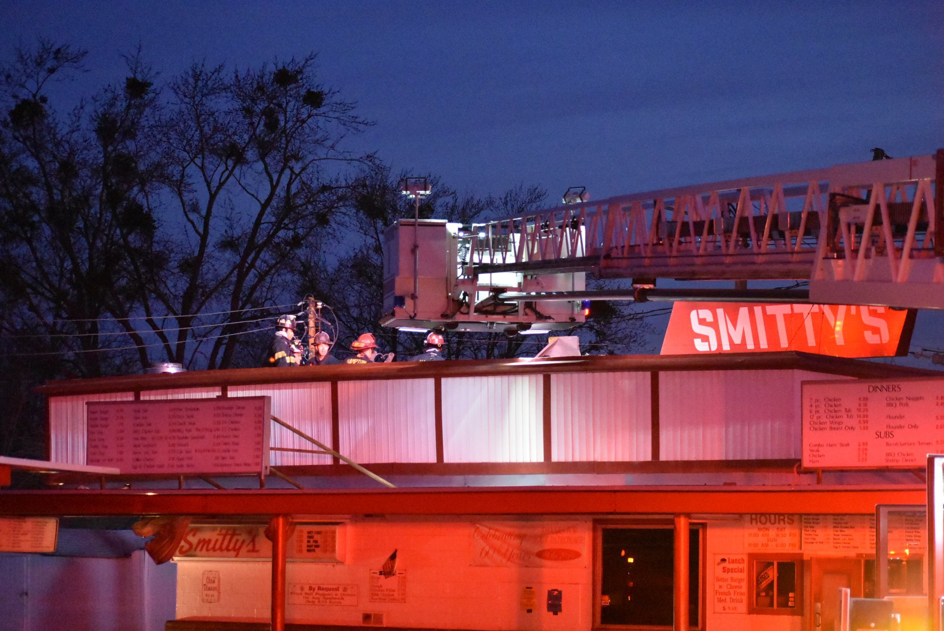 Photos: Hampton restaurant closed until further notice after early-morningfire