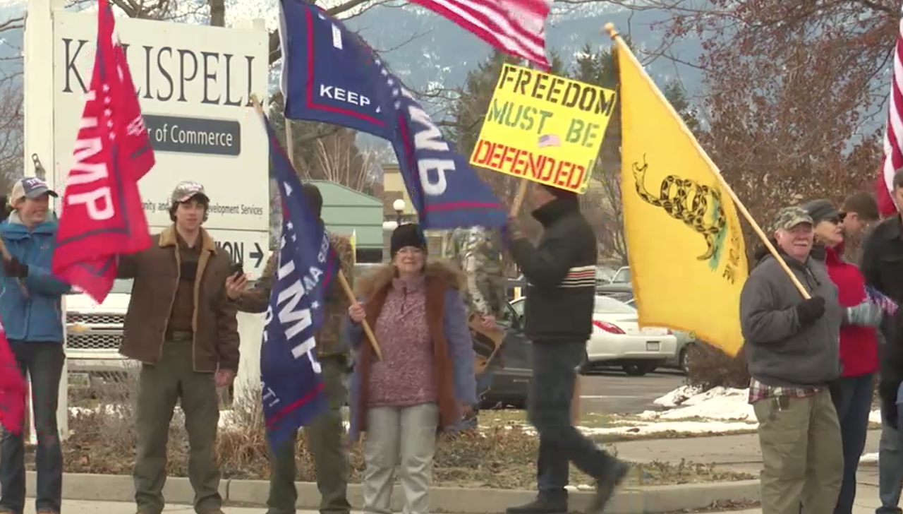 Kalispell Stop the Steal Rally
