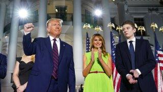 Barron Trump had the coronavirus, first lady confirms