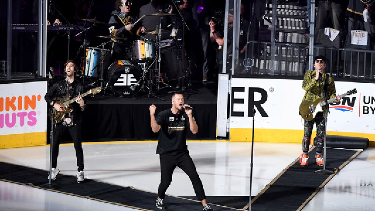 Imagine Dragons to open Game 2 of Stanley Cup