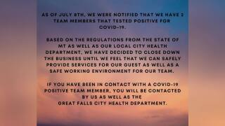 Great Falls salon owner explains response to COVID-19 among employees