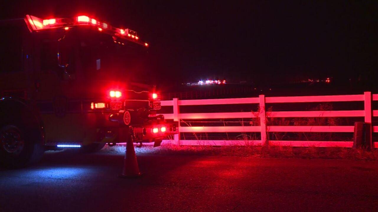 Fire burns Chesterfield garage, dumptruck