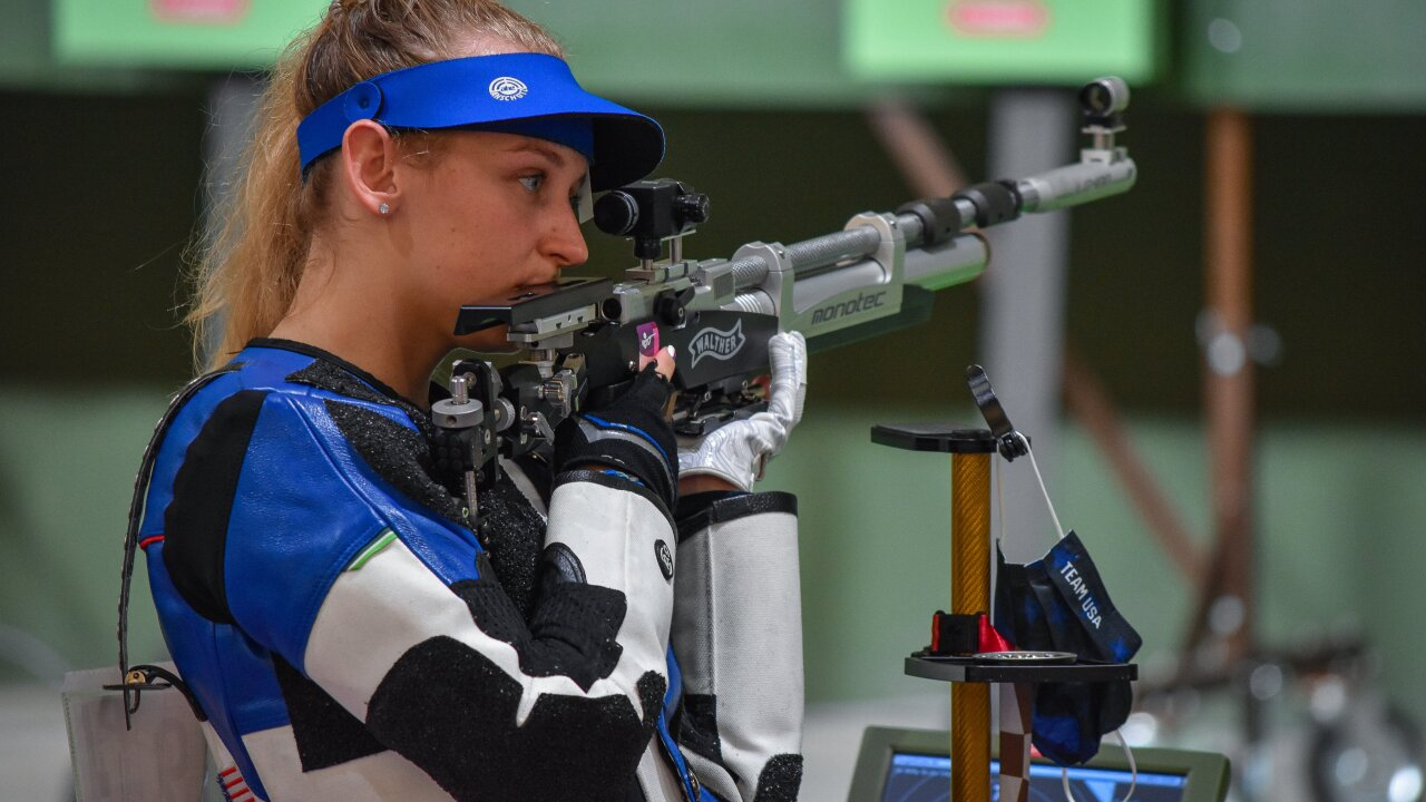 Belgrade's Ali Weisz places 14th for Women's 10m Air Rifle at Summer Olympics