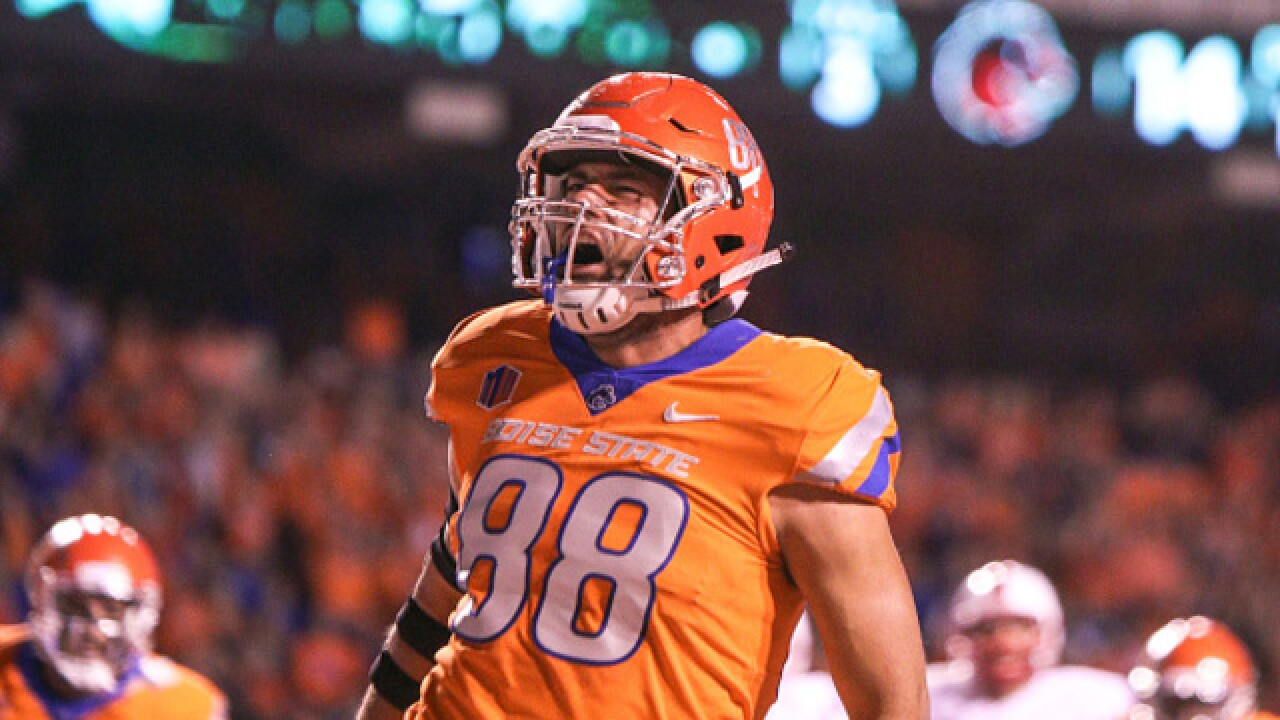 Jake Roh's 3 TDs lead Boise State past New Mexico 28-14