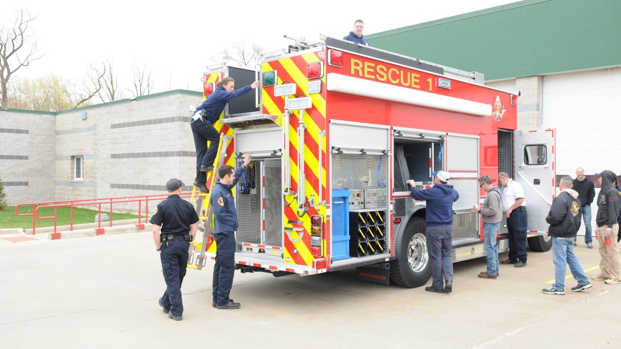 South Haven Area Emergency Services new rescue truck