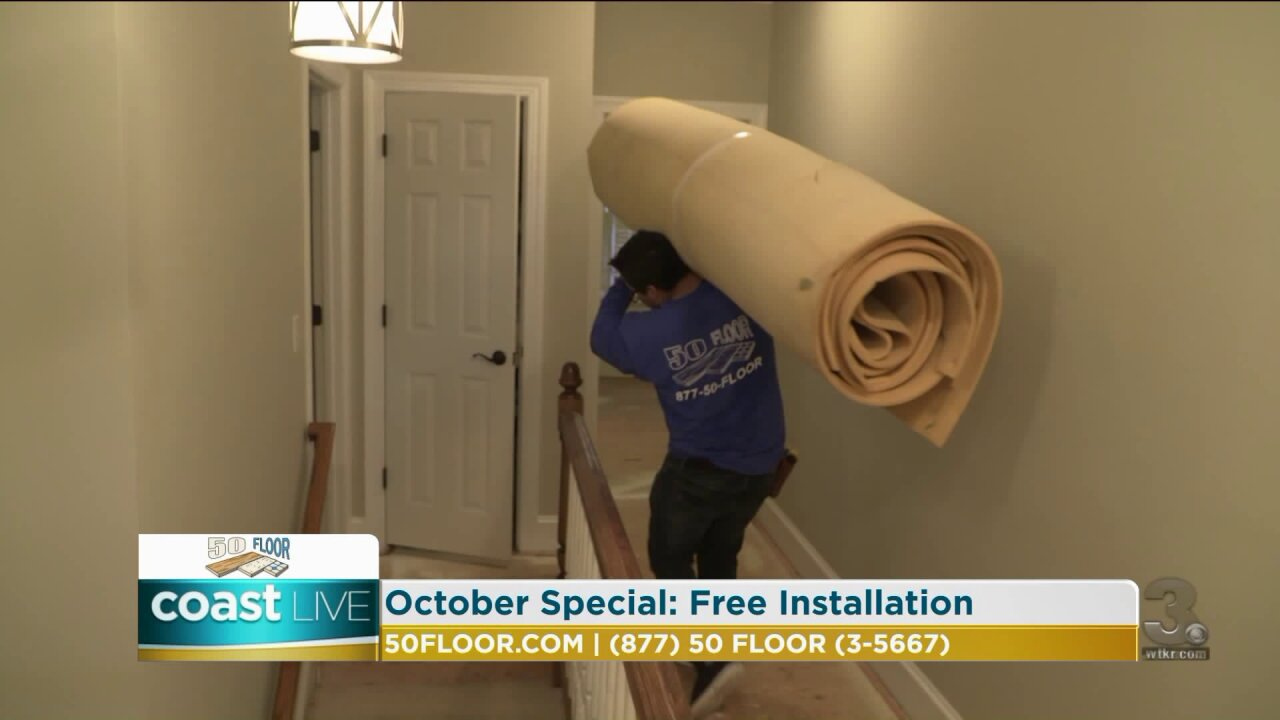 Adding style to your home with decorations and new flooring on Coast Live