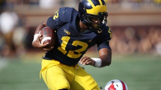 Former Michigan RB Chis Evans reinstated for winter term, will be eligible to play