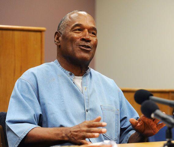 PHOTOS: The faces of O.J. Simpson during parole hearing