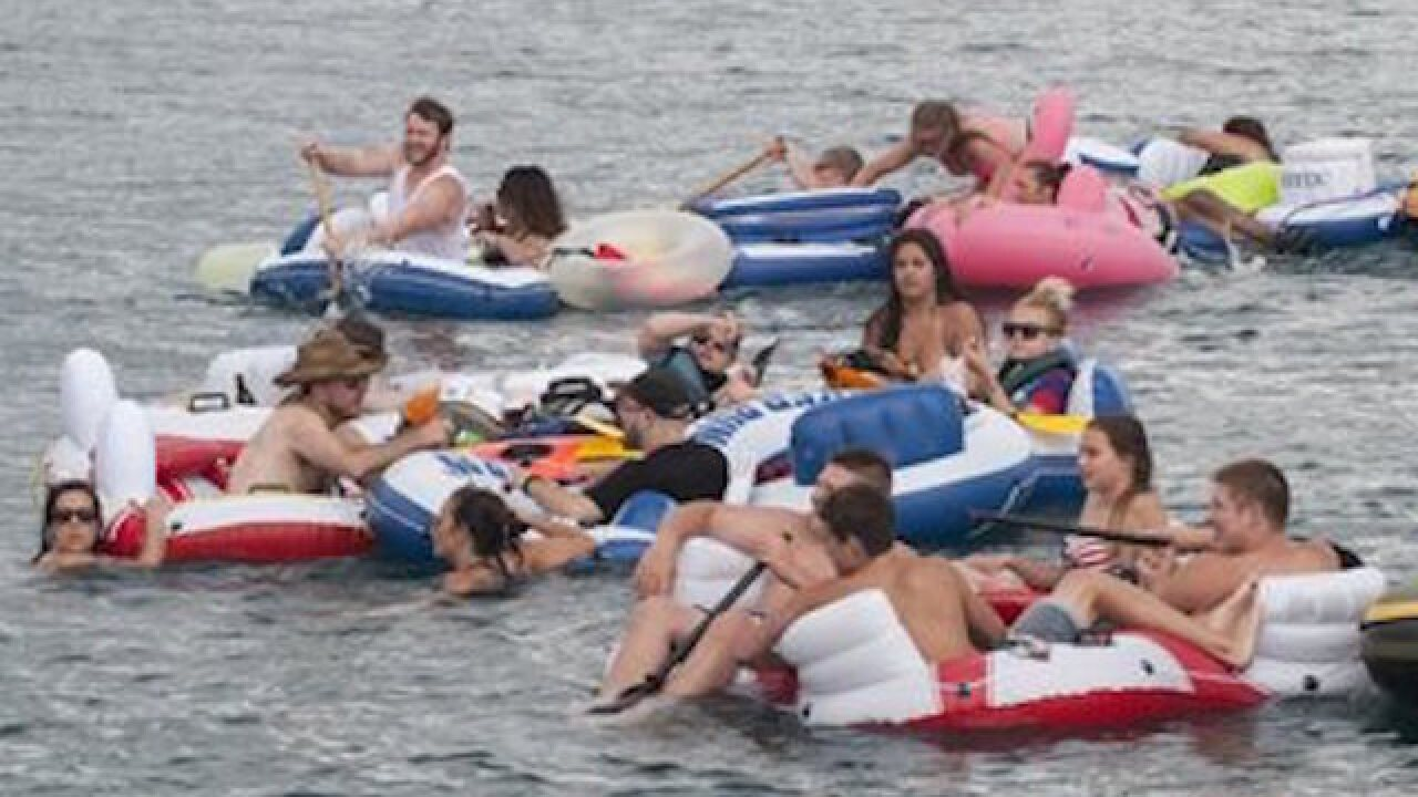 Raft race turns into international incident
