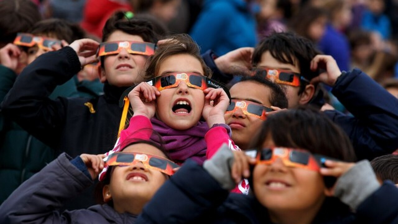 Can't find glasses? Here are other ways to view eclipse
