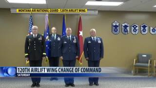 Change of Command at 120th Airlift Wing