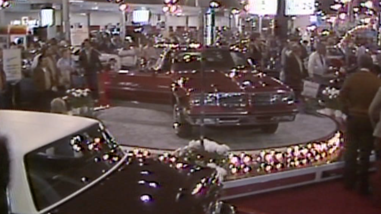 A cruise down memory lane: 1982 Indy Auto Show
