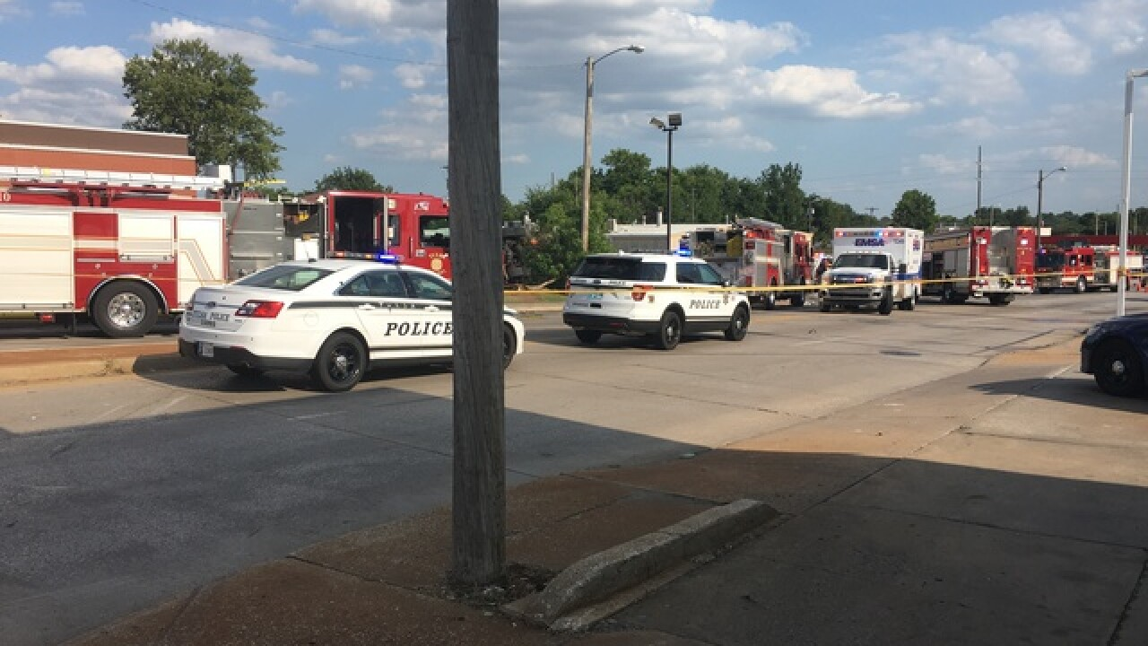 Diesel truck hits several cars near I-244, Utica