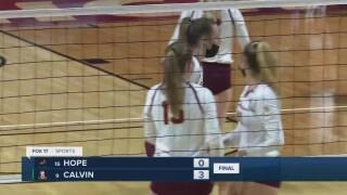 calvin university volleyball