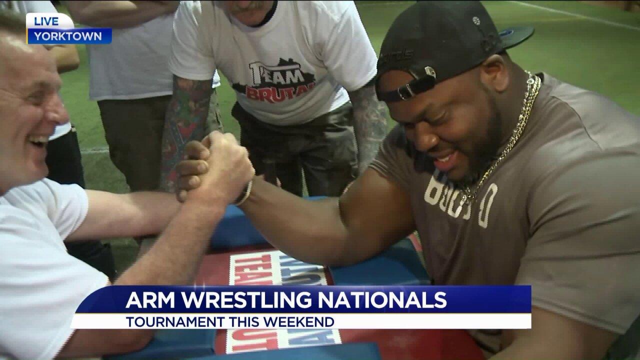 Flex those muscles! The Arm Wrestling Nationals return toYorktown