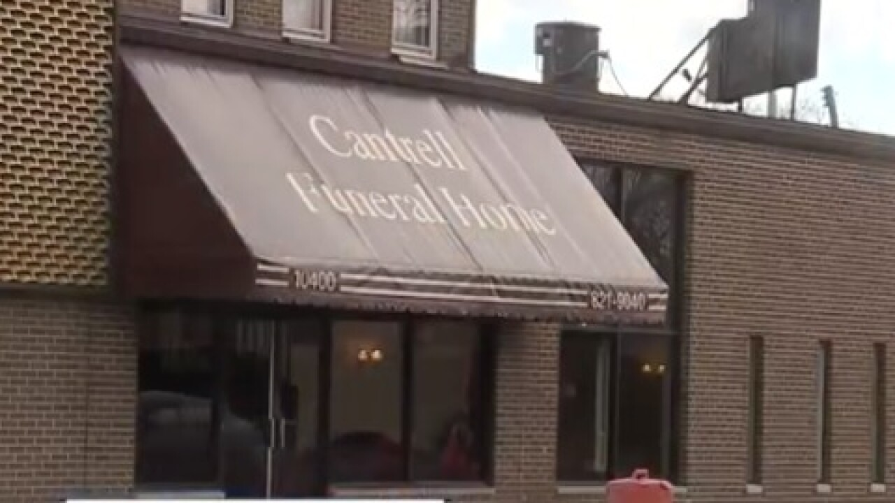 Infant bodies found in ceiling of funeral home