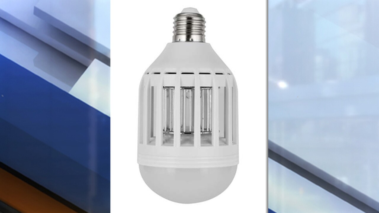 HAUS mosquito zapper LED light bulbs recalled