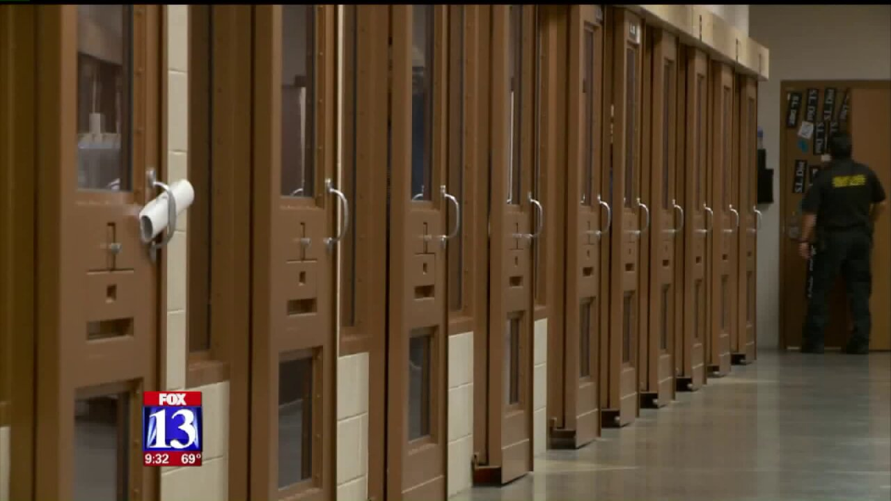 Booking restrictions lifted at Salt Lake CountyJail