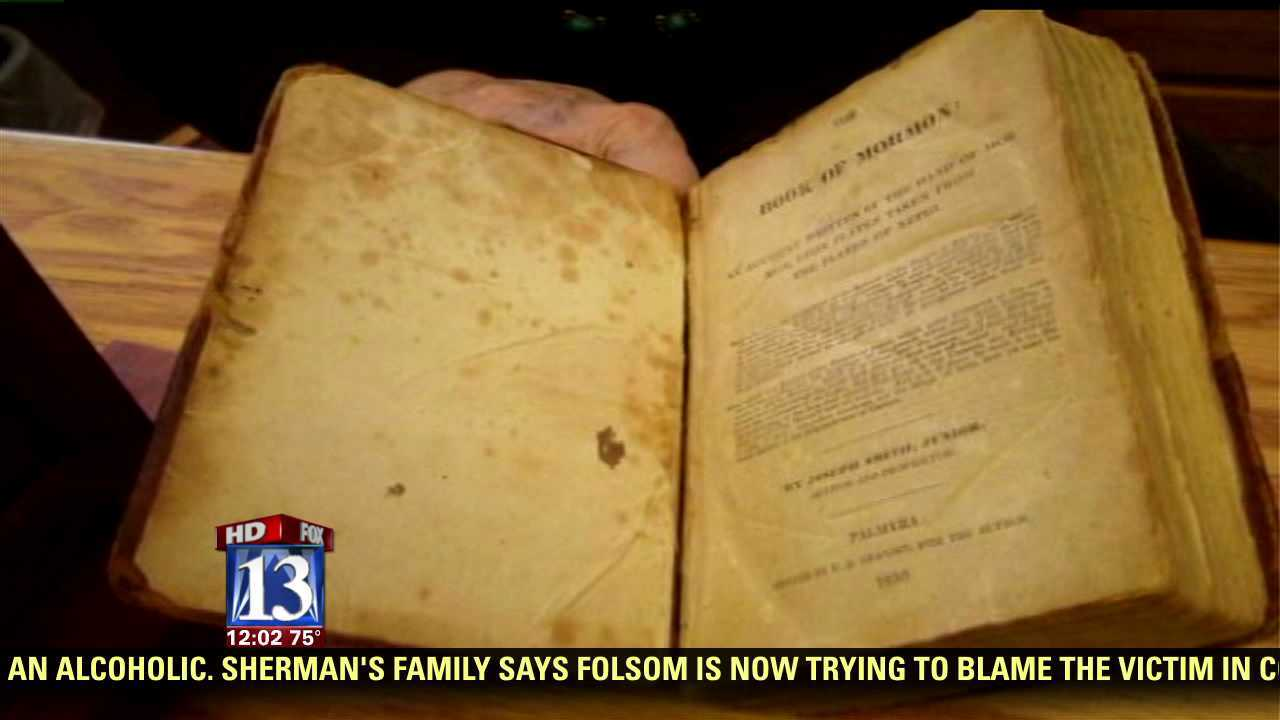 Arizona bookstore reports valuable Book of Mormon stolen