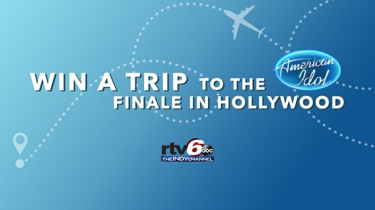 Win a trip to the Idol <sup>tm</sup>/© Finale
