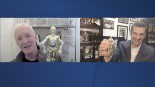 C-3PO actor Anthony Daniels talks book, life in Star Wars with WXYZ's Brad Galli