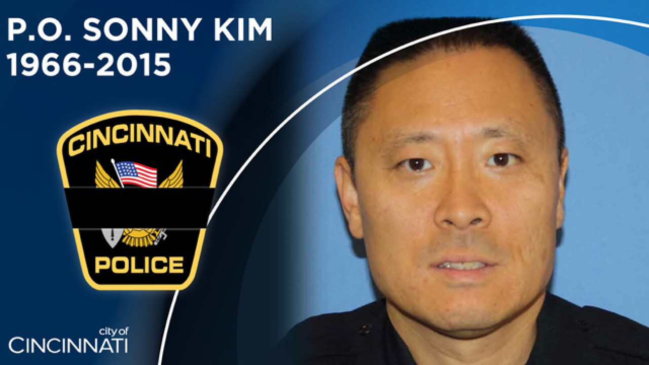 Sonny Kim honored in police memorial parade