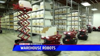 Tech Smart: Warehouse robots do the heavy lifting
