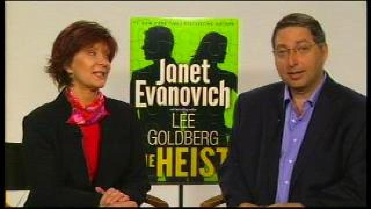 VIRGINIA THIS MORNING: Janet Evanovich and Lee Goldberg