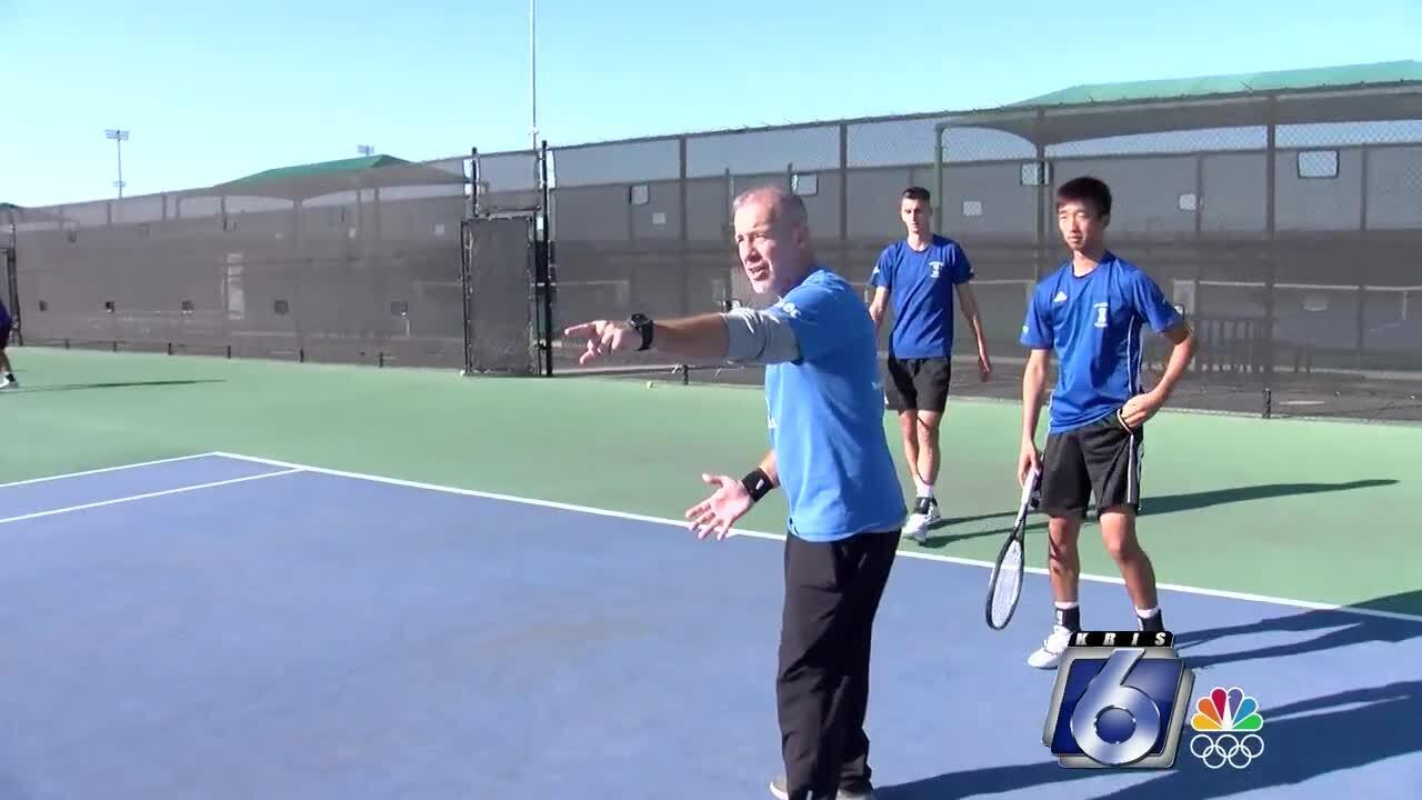 Steve Moore and the Texas A&M-Corpus Christi Islanders tennis program