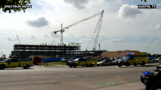 At least 22 injured in crane accident in Austin