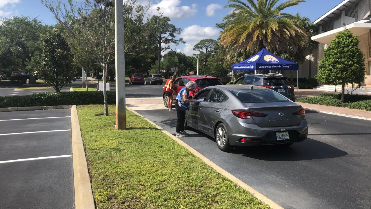 A drive-thru COVID-19 vaccination site at the First United Methodist Church in Stuart on April 9, 2021.jpg
