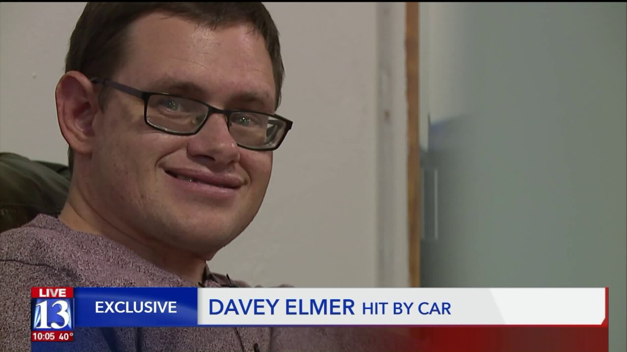 Family searching for driver who hit man with special needs