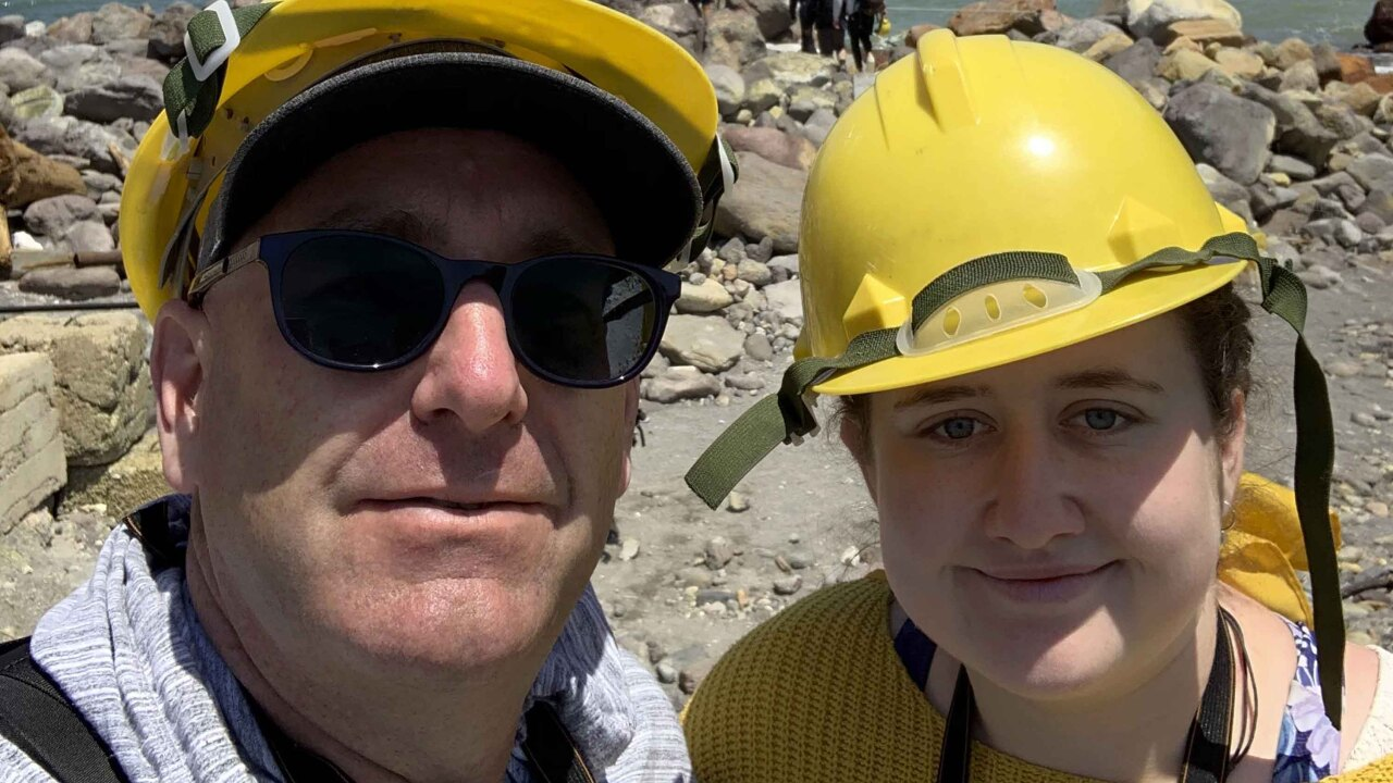 They survived New Zealand's volcano eruption, then went back to rescue others