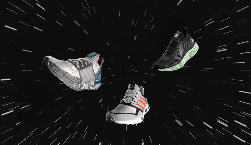 The adidas x Star Wars Space Battle-themed pack.