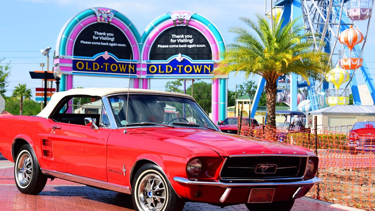 Old Town In Kissimmee Brings Back Classic Florida Fun