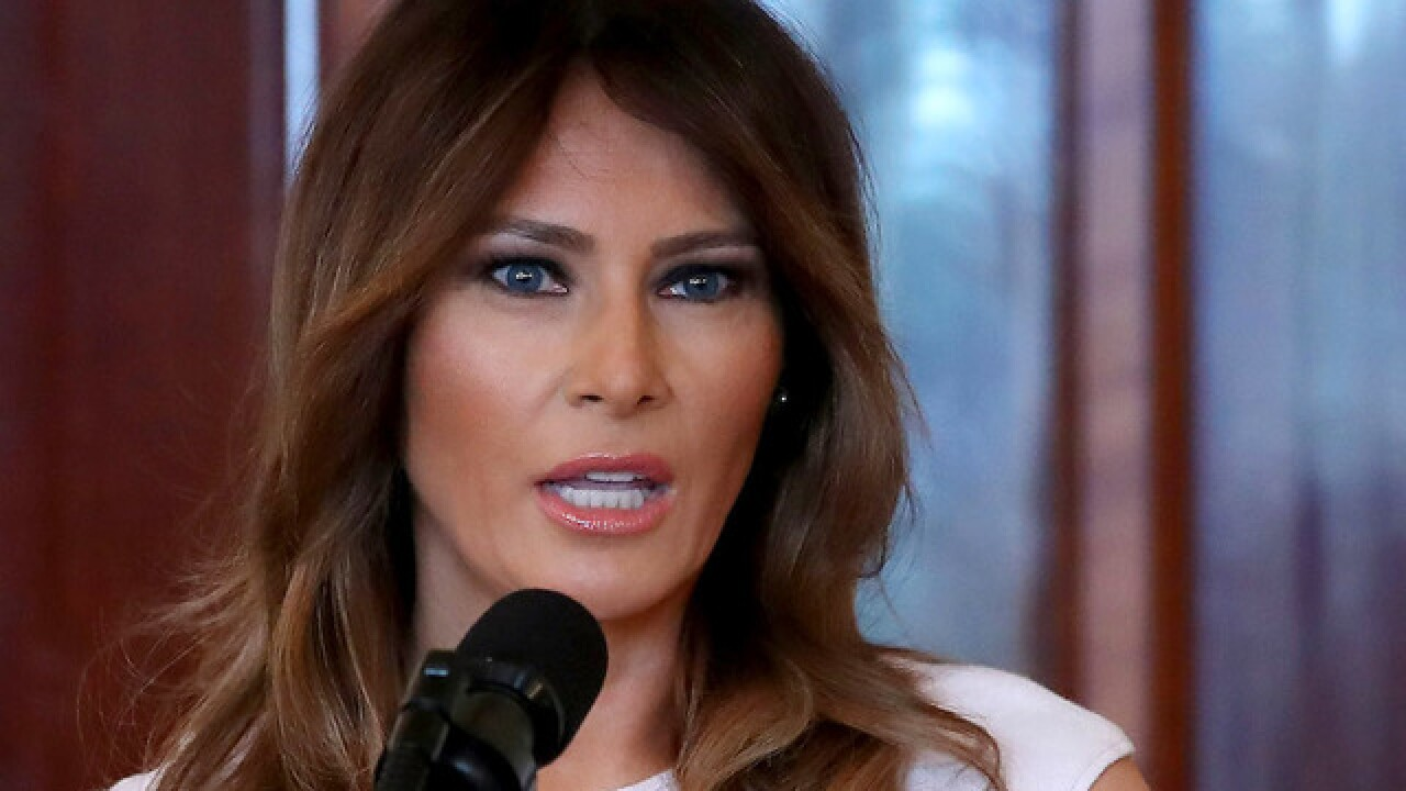 Melania Trump to announce formal platform during Rose Garden ceremony