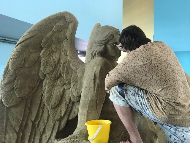 U.S. Sand Sculpting Challenge creates art out of sand