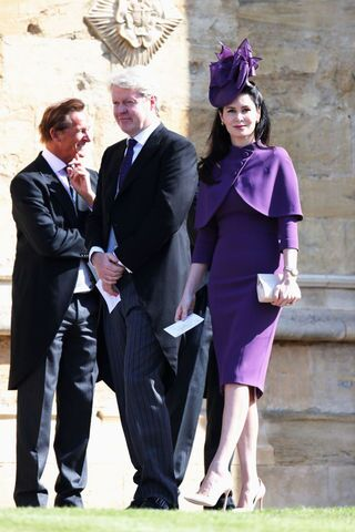 Royal Wedding 2018 Guests.Royal Wedding 2018 Photos Of Celebrity Guests Begin For Wedding
